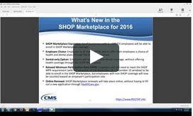 Guidance on Plan Year 2016 FFM Registration & Training