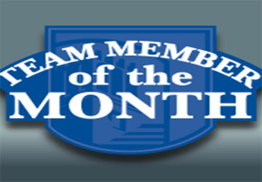April Team Member of the Month