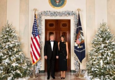 The 2018 White House Christmas Decorations