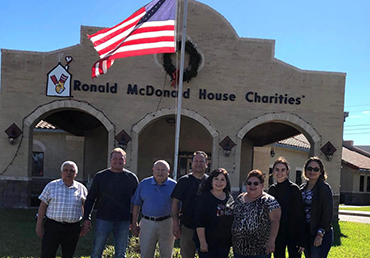 Giving Back at the Ronald McDonald House in Harlingen, TX