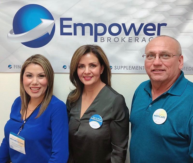 Empower Brokerage medicare kiosk at Walmart.