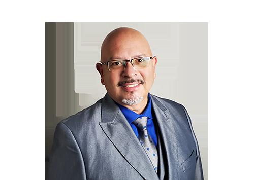 Empower Brokerage's new Regional Sales Director, Ben Marquez, smiles in his team photograph.