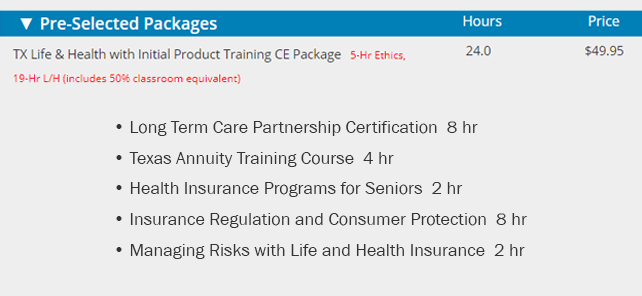 Annuity and LTC Continuing Ed