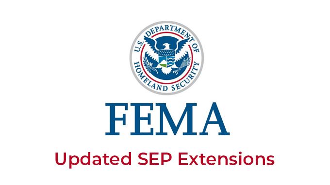FEMA SEP Extensions