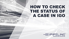 6 – How to check the status of a case in iGo