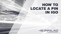 9 – How to locate a pin in iGo