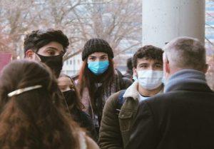 No More Masks Outside?