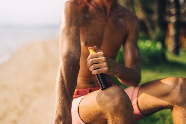Scientists alarmed by large amounts of carcinogen benzene in household sunscreens. Photo by Anna Tarazevich from Pexels